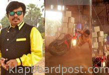 Accident to sampoornesh babu in bazaar rowdy shooting