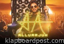 Allu arjun journey 'rap song'