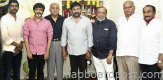 Chiranjeevi 'Lucifer' movie launched