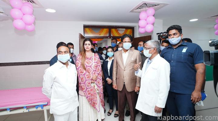 Megha will developing the hospitals