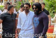 Prabhas 'Salaar' movie launched