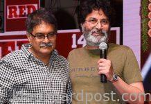 Trivikram falls on producer's feet!