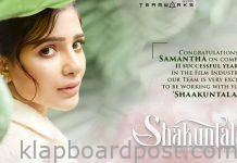 Date confirmed for Samantha to join Shakunthalam
