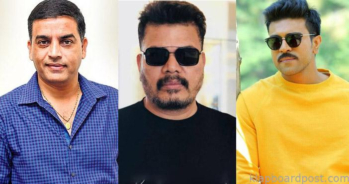 Dil Raju and Shankar discussing this key issue for Charan's film?