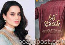 Kangana becomes a big competition to Tuck Jagadish