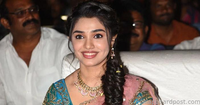 Kriti Shetty reveals her crush at the Uppena event