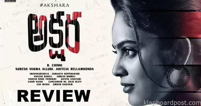 Review - Akshara - Good opportunity wasted
