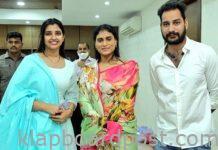Anchor Shyamala meets Sharmial- Pic goes viral