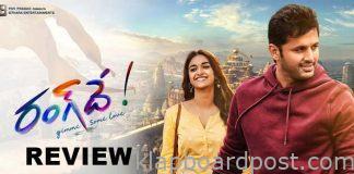 Rang De Review - Mature romantic comedy