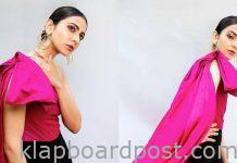 Rakul Preet Singh Looks Stunning in Pink