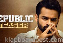 Republic Movie Teaser | Sai Dharam Tej, Aishwarya Rajesh