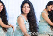 Sai Pallavi Looking Beautiful In Saree