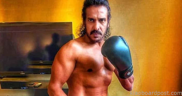 Upendra's chiseled look