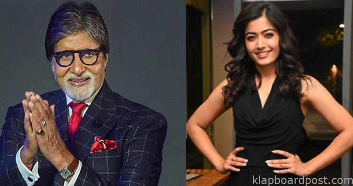 Rashmika opens up about working with Amitabh Bachchan