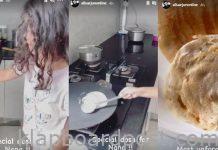 Allu Arjun's Daughter Arha makes Dosa