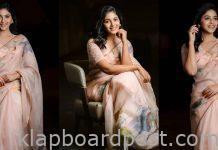 Anjali Looking Beautiful In Saree