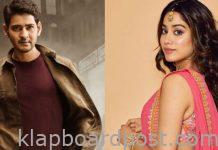 Mahesh Babu romance with Janhvi Kapoor
