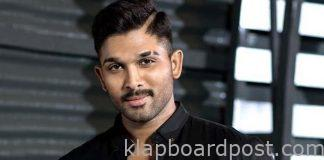 Mass director narrates a script to Allu Arjun?