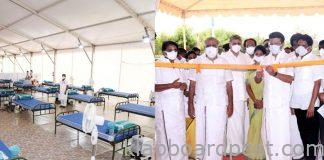 There is No Shortage of Beds in Tamil Nadu Megha is Setting Up Huge Oxygen Beds