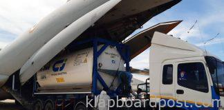 Imports of Megha 11 Cryogenic Oxygen Tanks for The First Time