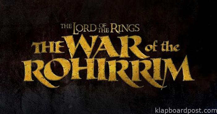 Anime feature of The Lord Of The Rings