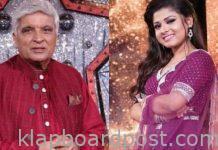 Javed Akhtar's compliment to Arunita Kanjilal