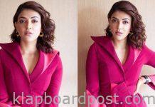 Kajal Aggarwal Looks Gorgeous In Pink