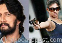 Sudeep Villain role in Nayanatara movie