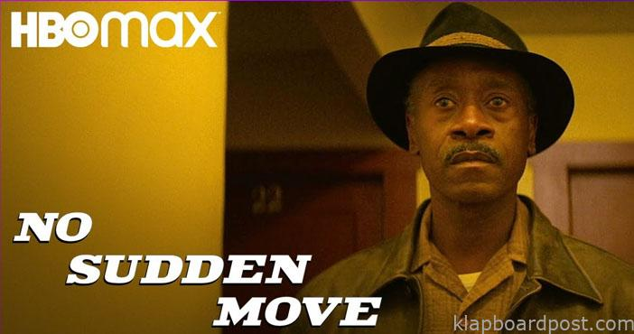No Sudden Move on HBO Max on July 1