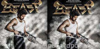Thalapathy 65 'Beast' Movie First Look Released