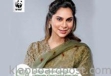 WWF India:Upasana is India Ambassador of Forest Frontline Heroes