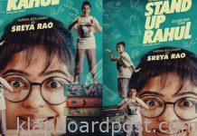Varsha Bollamma First Look from 'Stand Up Rahul'