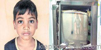7 Years Boy Broken TV Due To Hero Beating Sonusood