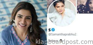 Samantha Drops 'Akkineni' From Her Twitter and Insta