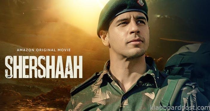 Sidharth Malhotra as Capt Vikram Batra in 'Shershaah'
