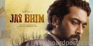 Suriya plays a lawyer in Jai Bhim