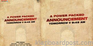 Harish Shankar And Pawan Kalyan Movie Update Tomorrow